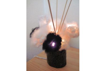 bouquet lumineux - Lampes et guirlandes - 10doigts.fr
