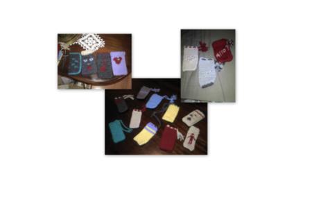 Chaussettes pour portables - Déco du textile - 10doigts.fr