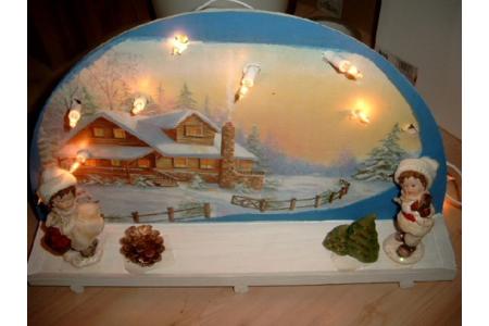 decor de Noel en bois - Pâques, Noël - 10doigts.fr