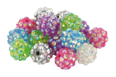 Shamballa avec perles Disco - Bijoux Shamballas – 10doigts.fr