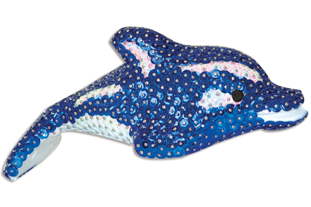 Dauphin en polystyrène 17 x 6 cm - Animaux – 10doigts.fr