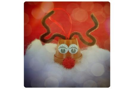 Renne du Père Noël - Décoration du sapin – 10doigts.fr