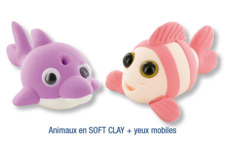 Animaux en pâte à modeler SOFT CLAY - Activités enfantines – 10doigts.fr