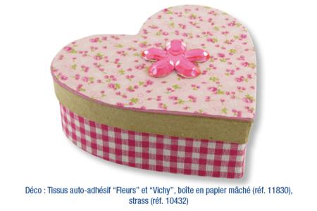 Boîte coeur - Boîtes, coffrets, plateaux – 10doigts.fr
