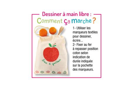 Sac shopping en coton blanc - Fête des Mères – 10doigts.fr