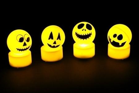 Monstres d'Halloween lumineux - Tutos Halloween – 10doigts.fr