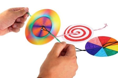 Toupies à corde - Dessiner, colorier – 10doigts.fr