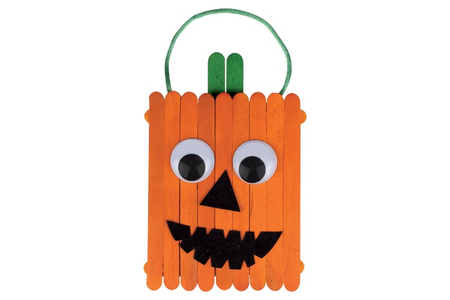 Citrouille en bâtonnets - Tutos Halloween – 10doigts.fr