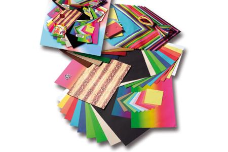 Set de papier pour toute l'année - 10doigts.fr