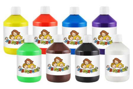 Peinture acrylique 10 Doigts - 500 ml - Acryliques scolaire – 10doigts.fr