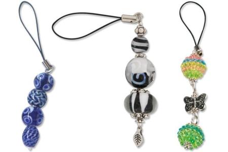 Attaches gri-gri noires - Porte-clés pour bijoux – 10doigts.fr