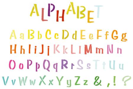Pochoir Alphabet - Pochoirs Alphabets – 10doigts.fr