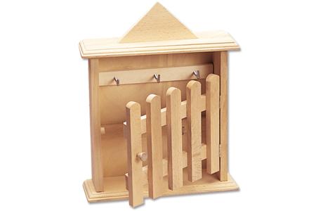 Armoire à clés en bois - Armoires et étagères – 10doigts.fr