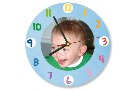Horloges en bois - Set de 3 formes assorties - Horloge – 10doigts.fr