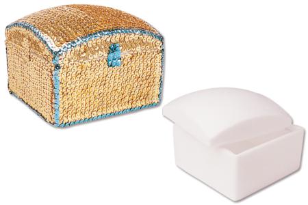 Boîte carrée en polystyrène - Formes Polystyrène – 10doigts.fr
