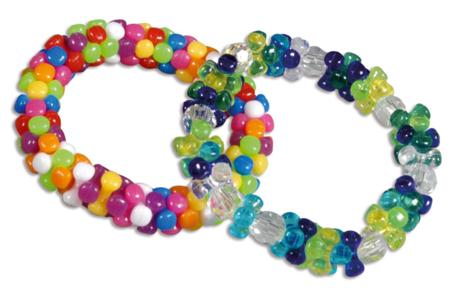 Bracelets techno - Kit pour 15 à 20 bracelets - Bijoux, bracelets, colliers – 10doigts.fr