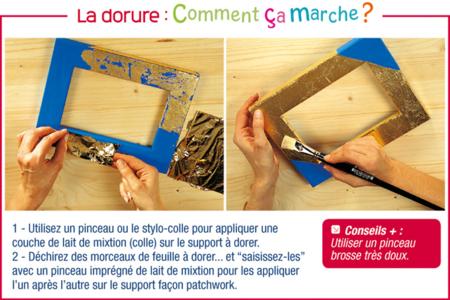 Dorure à la feuille - Lot de 25 - Dorure et patine – 10doigts.fr