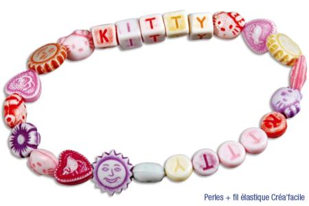 Perles enfantines - 250 perles - Perles en plastique – 10doigts.fr