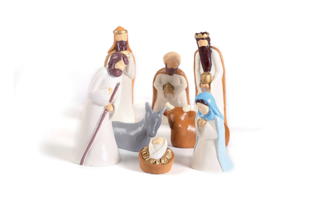 Moules pour crèche de Noël - 8 pièces - Moules de fêtes – 10doigts.fr