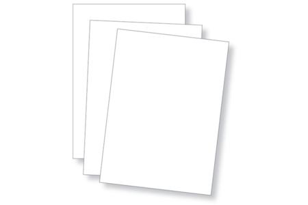 Carte en papier bristol 300 gr/m² - 50 feuilles - Ramettes de papiers – 10doigts.fr