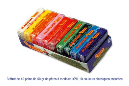 Pâtes enfantines ne durcissant pas à l'air JOVI - Pâtes à modeler non durcissantes à l'air  – 10doigts.fr