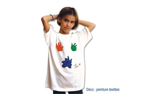 T-shirt économique 100% coton blanc jersey 160 gr - Coton, lin – 10doigts.fr