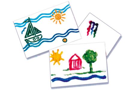 Papier dessin blanc - Format A4 ( 21 x 29.7 cm ) - Ramettes de papiers – 10doigts.fr