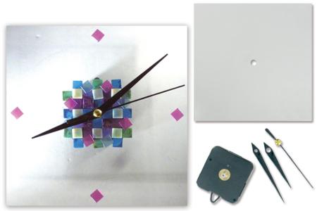 Mosaïque Acrylique - Finition opaque brillante - Mosaïques résine acrylique – 10doigts.fr