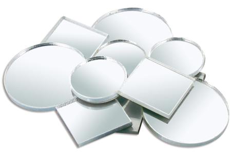 Miroirs ronds et carrés en verre - Set de 11 - Miroirs – 10doigts.fr
