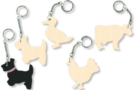 Porte-clefs animaux de la ferme - Porte-clefs – 10doigts.fr