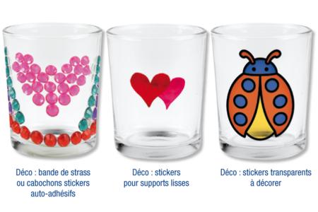 Photophores en verre - Lot de 4 - Supports en Verre – 10doigts.fr