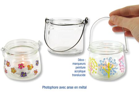Lanterne en verre - Lot de 4 - Supports en Verre – 10doigts.fr