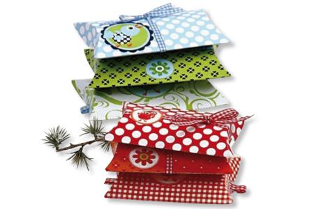 Boîtes à cadeau/dragées en carte blanche - Lot de 10 - Boîtes en carton – 10doigts.fr