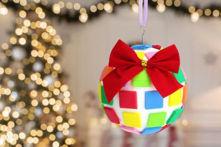 Boule de Noël mosaïques - Noël – 10doigts.fr