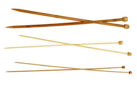 Aiguille à tricoter en Bambou - Taille au choix - Aiguilles – 10doigts.fr