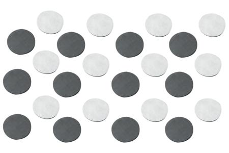 Aimants ronds adhésifs - Lot de 25 - Aimants – 10doigts.fr