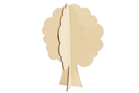 Grand arbre 4 saisons en bois à monter - Kits activités sur bois – 10doigts.fr