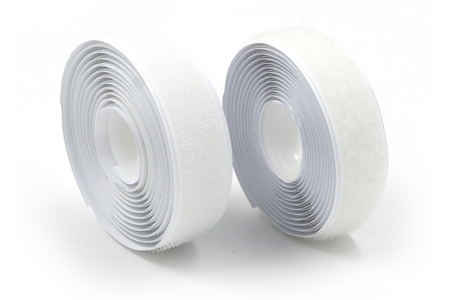 Bande de velcro blanc à coudre - 1,5 m - Colles tissu – 10doigts.fr