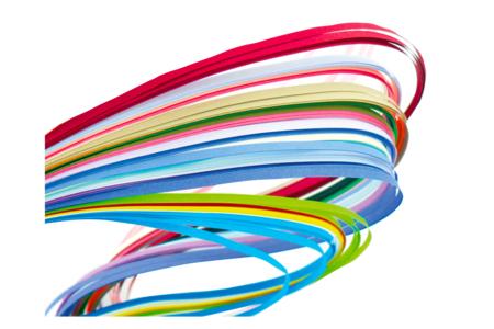 Bandes de papier Quilling - Quilling, paperolles – 10doigts.fr
