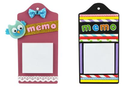 Planchettes Blocs-Notes - Kit de 6 mémos - Pense-bête – 10doigts.fr