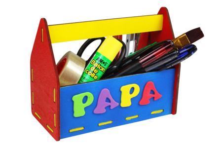 Boîte à outils / pot à crayons - Tutos Fête des Pères – 10doigts.fr