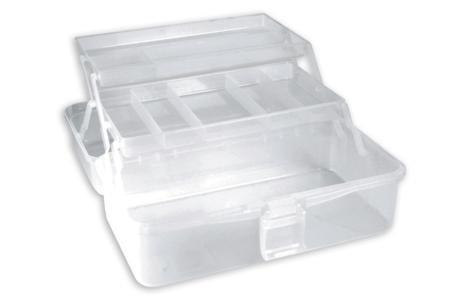 Boîte de rangement en plastique - Palettes et rangements – 10doigts.fr