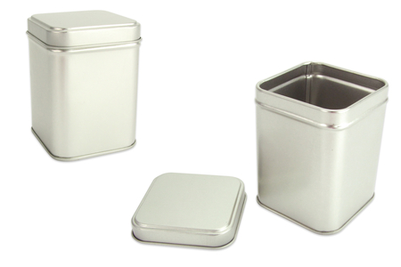Boîte à thé en métal 8 cm - Supports en Métal – 10doigts.fr