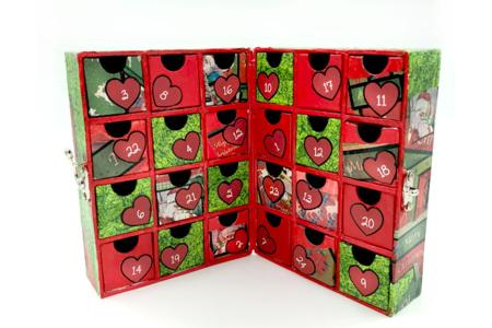 Meuble de rangement façon livre - Boîtes en carton – 10doigts.fr