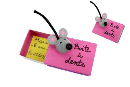 Boite à dents petite souris - Petits bricolages – 10doigts.fr