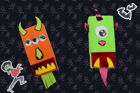 Les monstres boites d'allumettes - Décoration d'objets – 10doigts.fr
