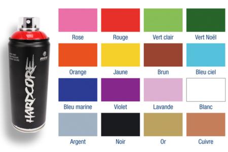 Peintures acryliques en aérosol - 400 ml - Peinture en aérosol – 10doigts.fr