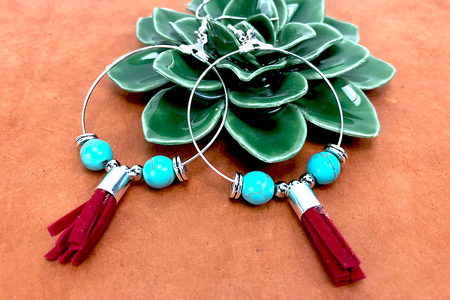 Perles Turquoise - 48 perles - Perles Lithothérapie – 10doigts.fr