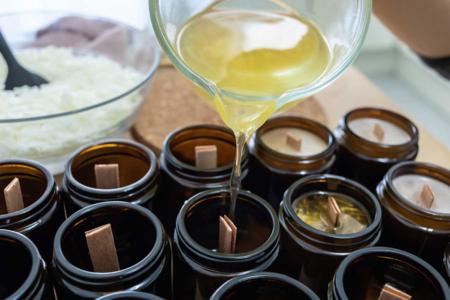 Cire bougie végétale 100% soja - Cires, gel  et bougies – 10doigts.fr