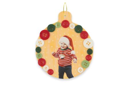 Boule de Noël en carton blanc - Boule de noël – 10doigts.fr